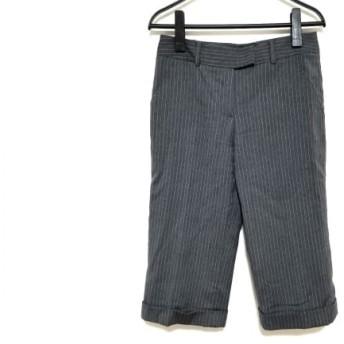 【中古】 トミーヒルフィガー TOMMY HILFIGER パンツ サイズ2 S レディース グレー ライトグレー