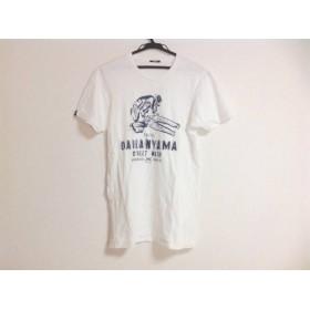 【中古】 デンハム DENHAM 半袖Tシャツ サイズXS レディース 白 ネイビー