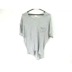 【中古】 アングリッド UNGRID 半袖Tシャツ サイズF レディース グレー