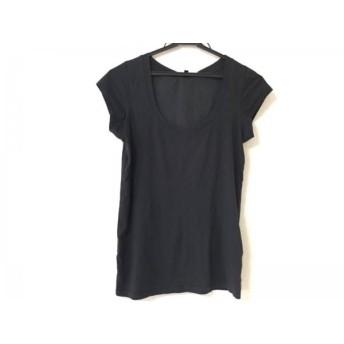 【中古】 セオリー theory 半袖Tシャツ サイズ2 S レディース 黒