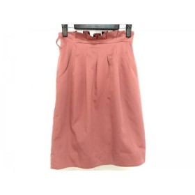 【中古】 ジャスグリッティー JUSGLITTY スカート サイズ1 S レディース 美品 ピンク