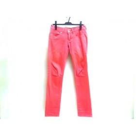 【中古】 アメリカンイーグル American Eagle パンツ サイズ確認出来ず レディース ピンク