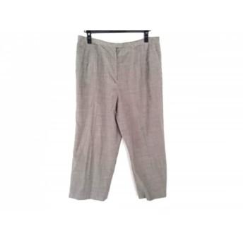 【中古】 レリアン Leilian パンツ サイズ17+ XL レディース グレー