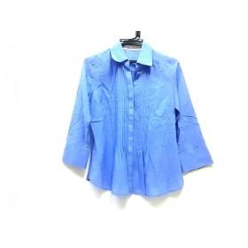 【中古】 スタイルコム Style Com 長袖シャツ サイズ9 M レディース ブルー