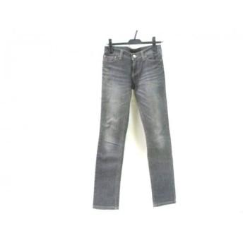 【中古】 ルスーク Le souk ジーンズ サイズ36 S メンズ ブラック