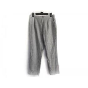 【中古】 ニジュウサンク 23区 パンツ サイズ43 レディース 美品 ライトグレー