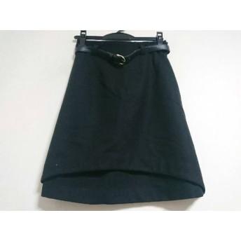 【中古】 ジャスグリッティー JUSGLITTY スカート サイズ1 S レディース 黒