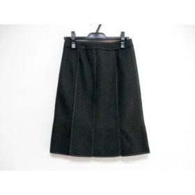 【中古】 ニジュウサンク 23区 スカート サイズ38 M レディース 美品 ダークグレー