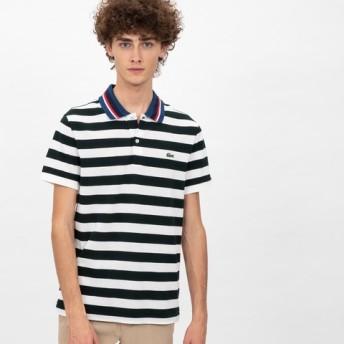 ボーダーポロシャツ(半袖)
