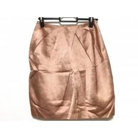 【中古】 ジャスグリッティー JUSGLITTY ミニスカート サイズ0 XS レディース ベージュ