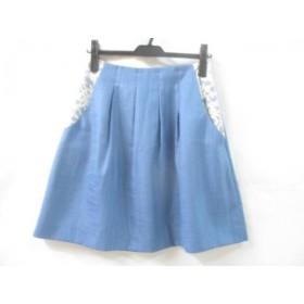 【中古】 アナトリエ anatelier スカート サイズ36 S レディース ブルー