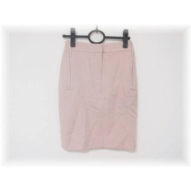 【中古】 サルバトーレフェラガモ SalvatoreFerragamo スカート サイズ38 S レディース ピンク