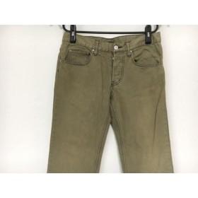 【中古】 イロコイ Iroquois パンツ サイズ1 S メンズ ベージュ ネイビー