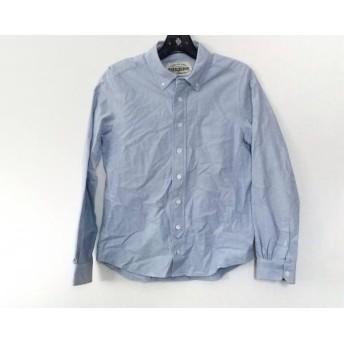 【中古】 シンゾーン Shinzone 長袖シャツ サイズ38 M メンズ ライトブルー
