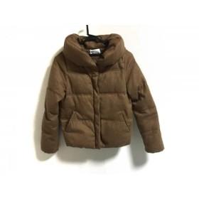 【中古】 アーバンリサーチドアーズ ダウンジャケット サイズ ONE F レディース 美品 ライトブラウン 冬物