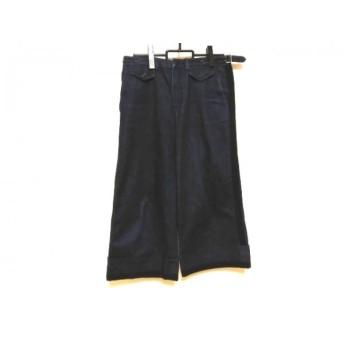 【中古】 ヌメロ ヴェントゥーノ N゜21 パンツ サイズ38 M レディース ネイビー