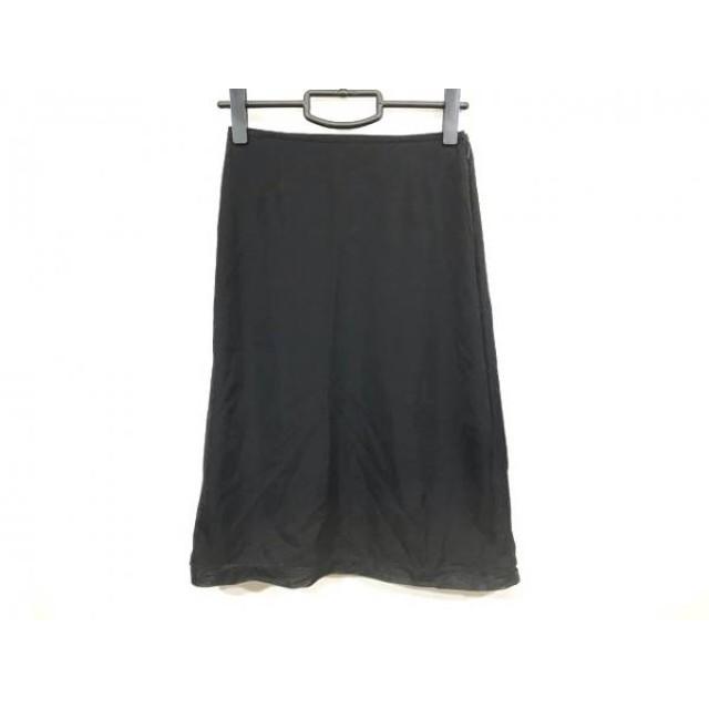 【中古】 ロイスクレヨン Lois CRAYON スカート サイズM レディース 美品 黒