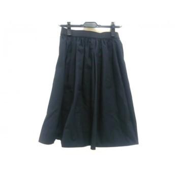 【中古】 アルアバイル allureville スカート サイズ2 M レディース 黒