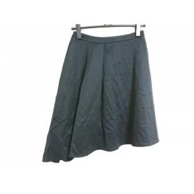 【中古】 エムズグレイシー M'S GRACY スカート サイズ38 M レディース 黒