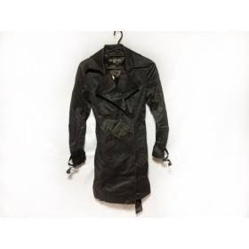 【中古】 ブラックバイマウジー BLACK by moussy トレンチコート レディース ダークグレー 春・秋物