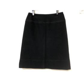 【中古】 ソニアリキエル SONIARYKIEL スカート サイズ36 S レディース 黒