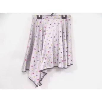 【中古】 リリーブラウン Lily Brown スカート サイズ1 S レディース パープル イエロー レッド