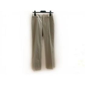 【中古】 ニジュウサンク 23区 パンツ サイズ38 M レディース ベージュ