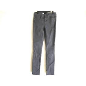 【中古】 ヴィンス VINCE パンツ サイズ26 S レディース ダークグレー