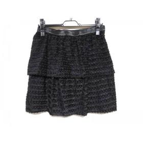 【中古】 マルティニーク martinique スカート サイズ2 M レディース 黒