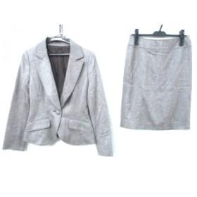 【中古】 ジャイロネクスト JAYRO NEXT スカートスーツ サイズM レディース ブラウン