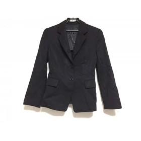 【中古】 アンタイトル UNTITLED ジャケット サイズ1 S レディース 黒