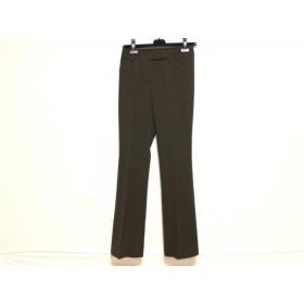 【中古】 バーバリーロンドン Burberry LONDON パンツ サイズ36 M レディース ダークブラウン
