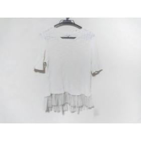 【中古】 マッキントッシュフィロソフィー 半袖セーター サイズ38 L レディース アイボリー