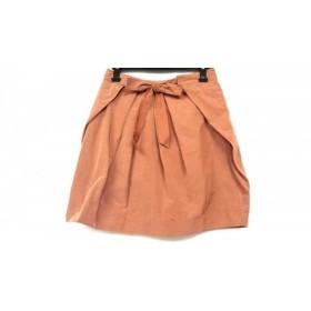 【中古】 ドゥーズィエム DEUXIEME CLASSE スカート サイズ36 S レディース ブラウン
