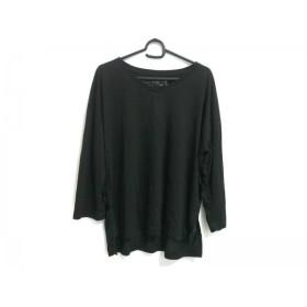 【中古】 ゴア G.O.A/goa 長袖Tシャツ サイズF レディース 美品 黒 Natural VINTAGE