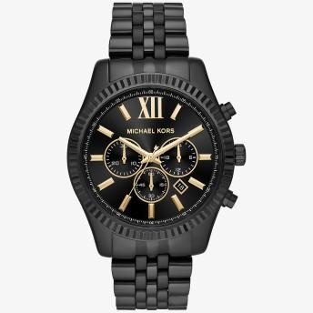 Michael Kors(マイケルコース) メンズ 時計 ウォッチ MICHAEL KORS ACCESS LEXINGTON ブラック ウォッチ ブラック NS