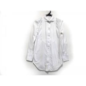 【中古】 ナラカミーチェ NARACAMICIE 長袖シャツブラウス サイズ0 XS レディース 白 プリーツ
