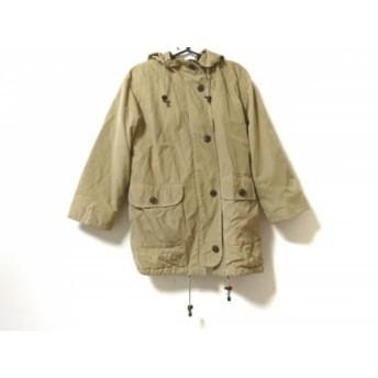 【中古】 バーバリーズ Burberry's コート サイズ7 S レディース イエロー 冬物