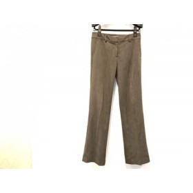 【中古】 ナラカミーチェ NARACAMICIE パンツ サイズ0 XS レディース ダークブラウン