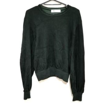 【中古】 トーガ TOGA 長袖セーター サイズ36 S レディース グリーン