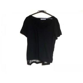 【中古】 サカイラック sacai luck 半袖Tシャツ サイズ2 M レディース 黒