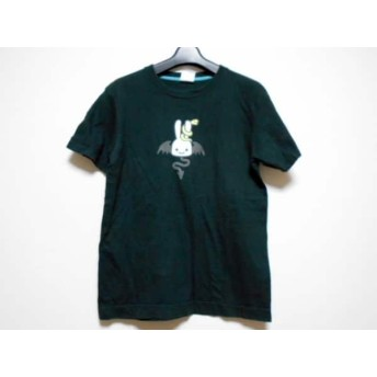 【中古】キューン CUNE 半袖Tシャツ サイズS レディース 黒xマルチ