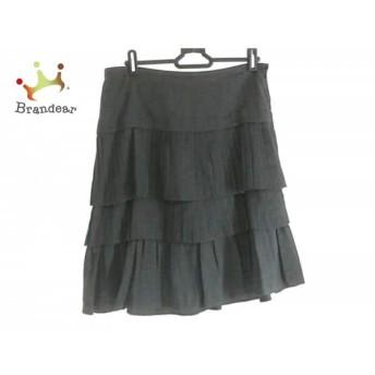 ニジュウサンク 23区 スカート サイズ40 M レディース 美品 黒 プリーツ スペシャル特価 20190730