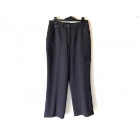 【中古】 レリアン Leilian パンツ サイズ11 M レディース ダークグレー