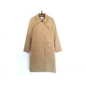 【中古】 ファサードグリーン ユナイテッドアローズ コート サイズ38 M レディース ベージュ 冬物