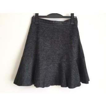 【中古】 マルティニーク martinique スカート サイズ2 M レディース ダークグレー