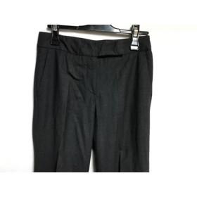【中古】 セオリー theory パンツ サイズ0 XS レディース ダークグレー