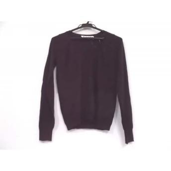 【中古】 マルニ MARNI 長袖セーター サイズ40 M レディース ダークブラウン