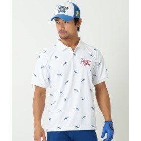 【予約】BEAMS GOLF ORANGE LABEL / ビーチサイド ポロシャツ メンズ ポロシャツ WHITE S