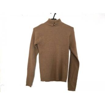 【中古】 シャンハイタン Shanghai Tang 長袖セーター サイズL レディース 美品 ベージュ タートルネック